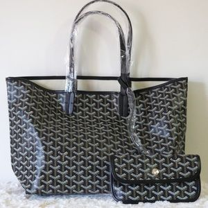 Goyard tote black medium